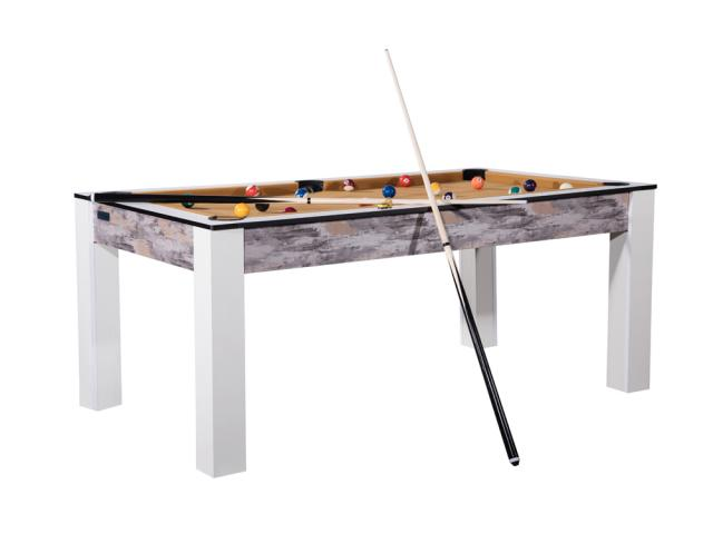 Billard Brooklyn convertible en table à manger - 8 personnes - design Atelier